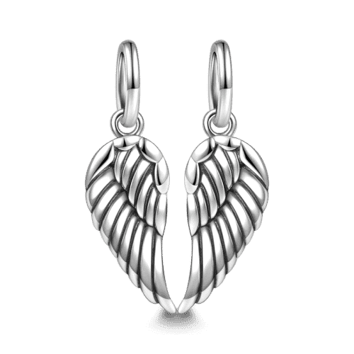 Pandora Compatible 925 sterling silver Wings Charm Silver From CharmSA Image 1