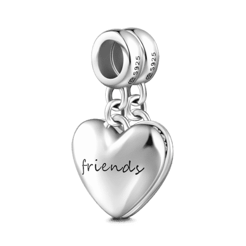 Pandora Compatible 925 sterling silver Forever Friends Charm From CharmSA Image 1