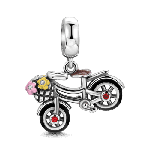 Pandora Compatible 925 sterling silver Bicycle Charm From CharmSA Image 1