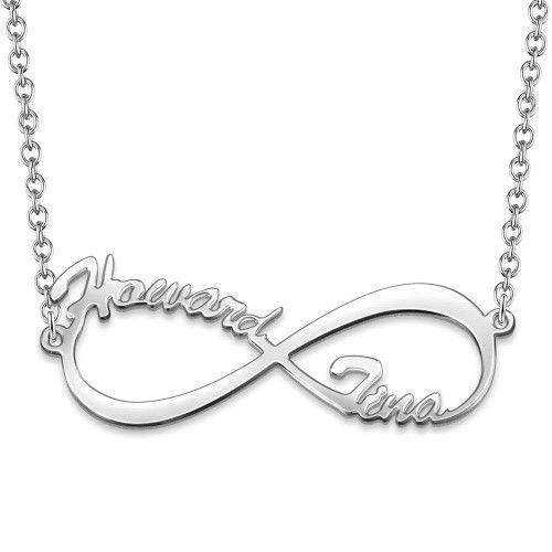Infinity Name Necklace Silver From CharmSA Image 1