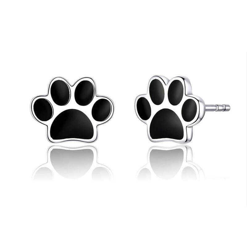 Dog Paw Stud Earrings From CharmSA Image 1