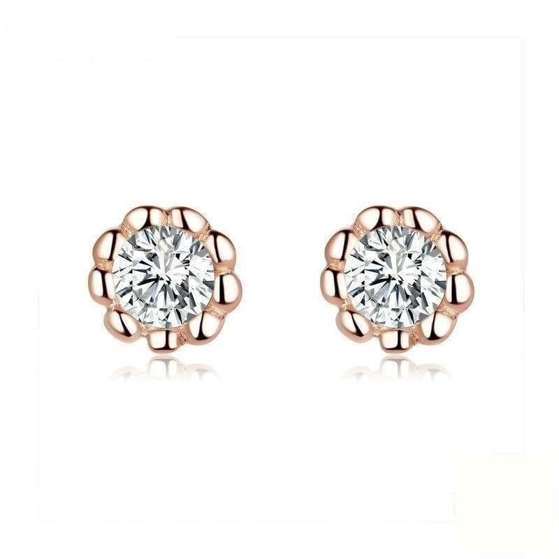 Rose Gold Earrings From CharmSA Image 1