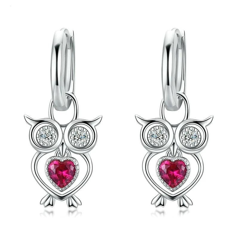 Owl Animal Earrings