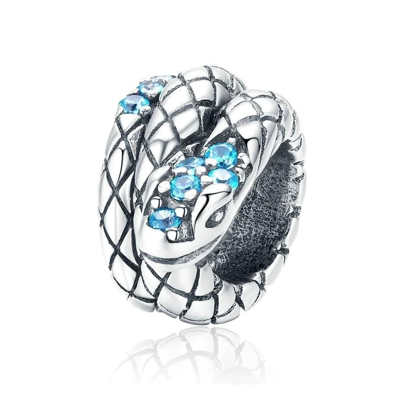 Pandora Compatible 925 sterling silver Snake Spacer From CharmSA Image 1