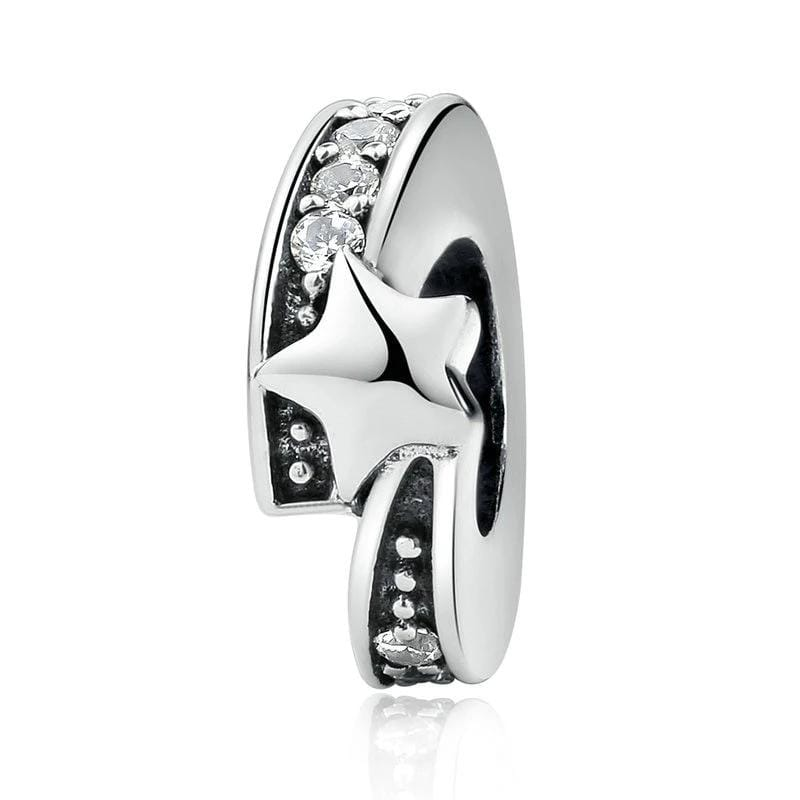 Pandora Compatible 925 sterling silver Star Spacer From CharmSA Image 1