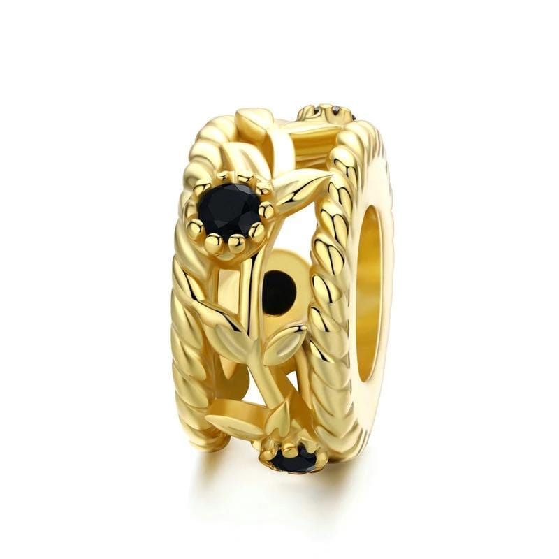 Gold Vintage Vines Spacer