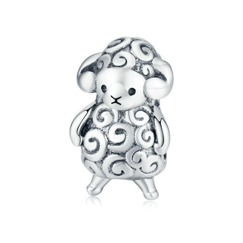 Pandora Compatible 925 sterling silver Baby Sheep Charm From CharmSA Image 1