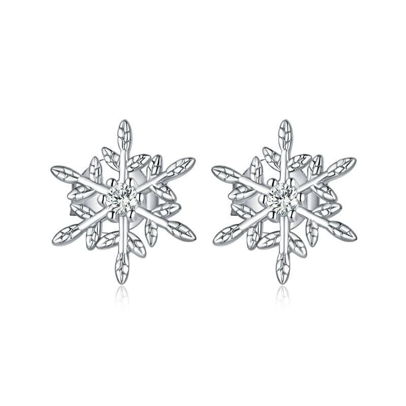 Romantic Snowflakes Earrings