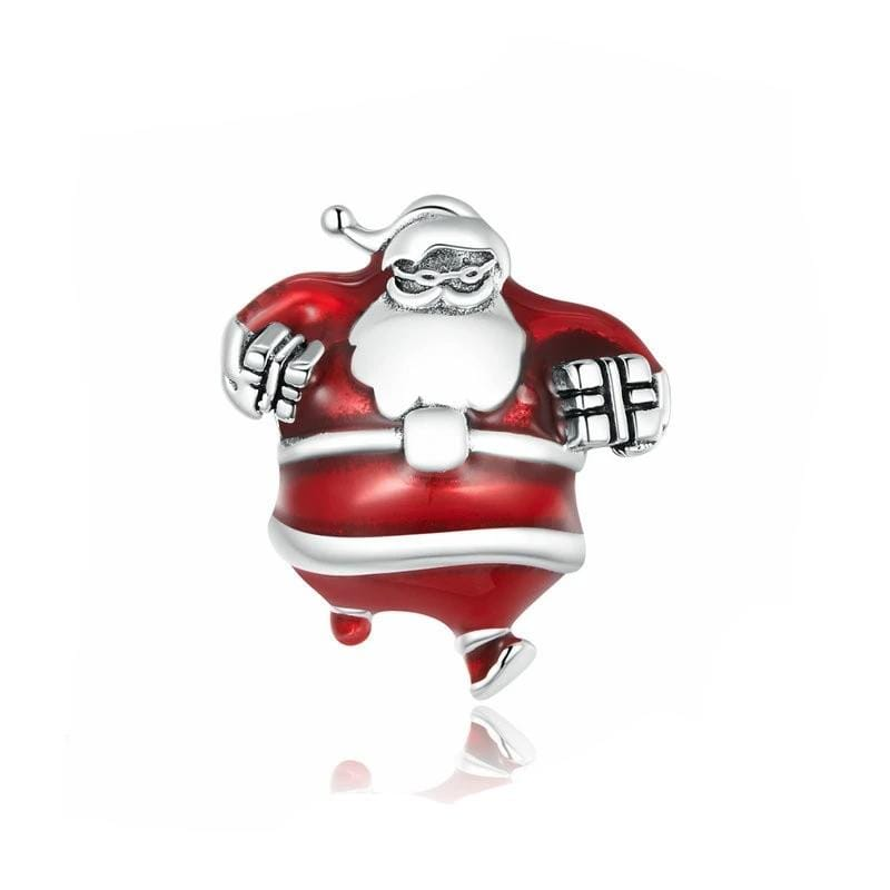 Merry Christmas Santa Claus Charm