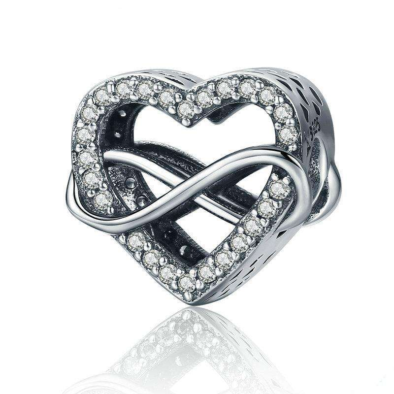 Pandora Compatible 925 sterling silver Endless Love Infinity Love Charm From CharmSA Image 1