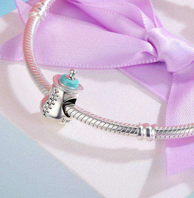 Baby Milk Bottle Charm