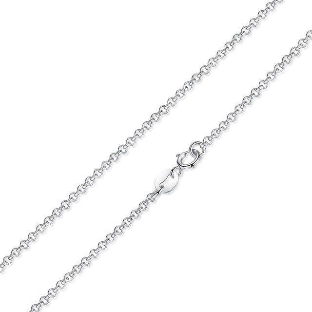 Sterling Silver Adjustable Necklace From CharmSA Image 1