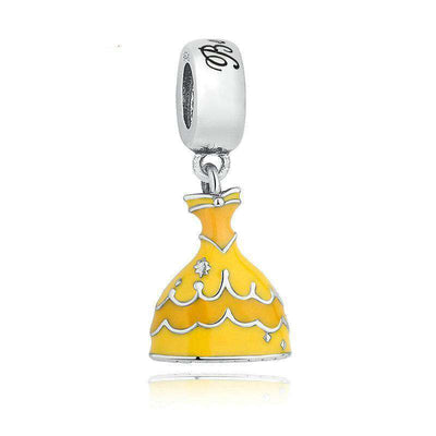 Belle's Yellow Dress Dangle Charm