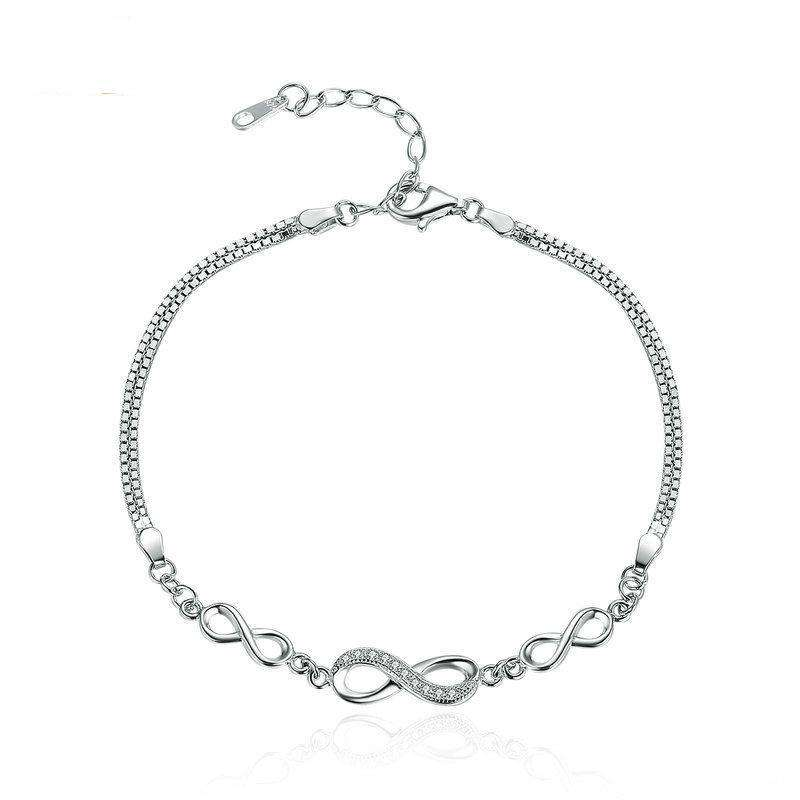 Endless Love Infinity Chain Link Bracelet From CharmSA Image 1