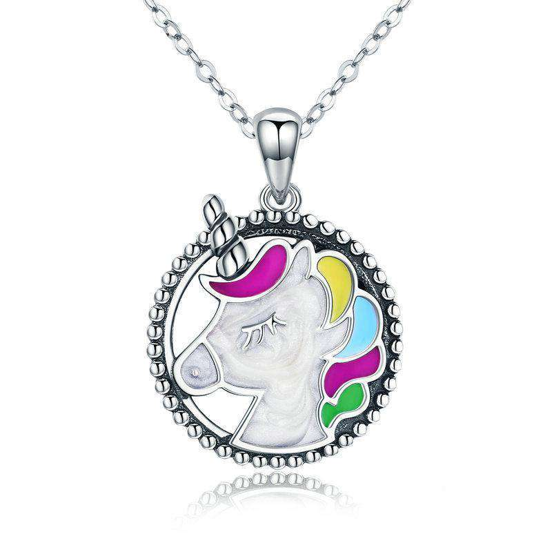 Memory Colourful Enamel Necklace