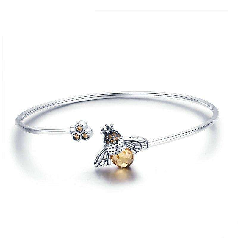 Bee And Honeycomb Bracelet From CharmSA Image 1