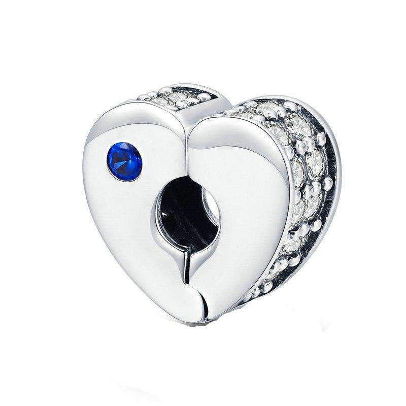 Pandora Compatible 925 sterling silver Love Clip From CharmSA Image 1