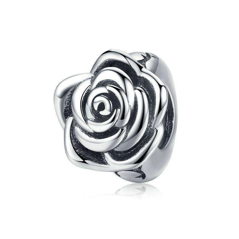 Pandora Compatible 925 sterling silver Rose Flower Buds Charm From CharmSA Image 1