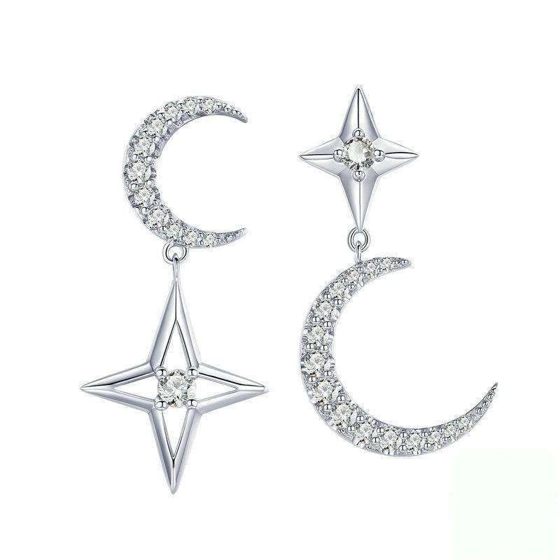 Moon & Star Earrings From CharmSA Image 1