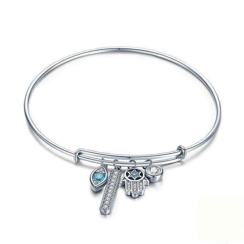 Guardian Hamsa Hand Bangle