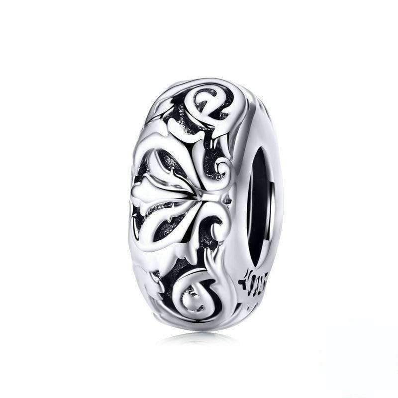Pandora Compatible 925 sterling silver Lily Flower Stopper From CharmSA Image 1