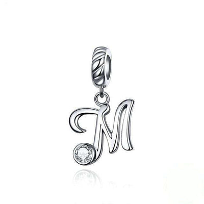 Alphabet A to Z Dangle Charm