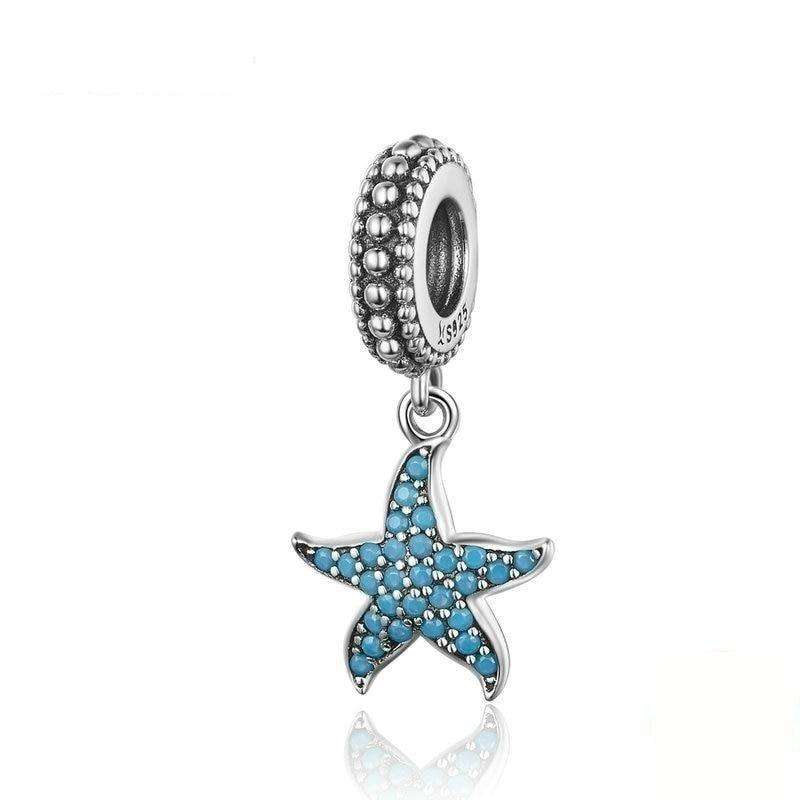 Pandora Compatible 925 sterling silver Starfish Charm From CharmSA Image 1