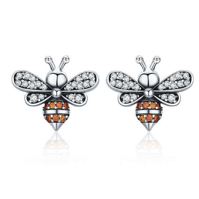 Baby Bee Stud Earrings From CharmSA Image 1