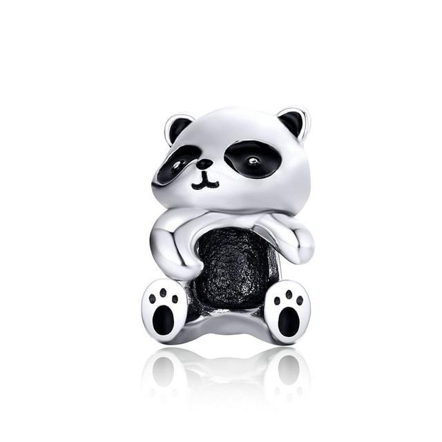 Pandora Compatible 925 sterling silver Panda Charm From CharmSA Image 1