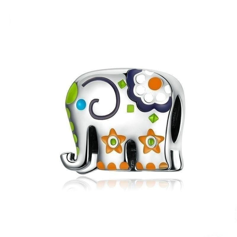 Pandora Compatible 925 sterling silver Thailand Elephant Charm From CharmSA Image 1