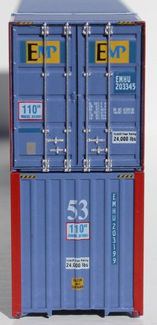 53' container door types, as per prototype ....