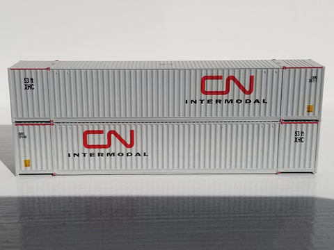 CN INTERMODAL 53' HIGH CUBE 6-42-6 corrugated containers with Magnetic system. JTC # 535002