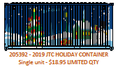 2019 JTCU Holiday 20' Std. height container with Magnetic system, Corrugated-side. JTC-205392