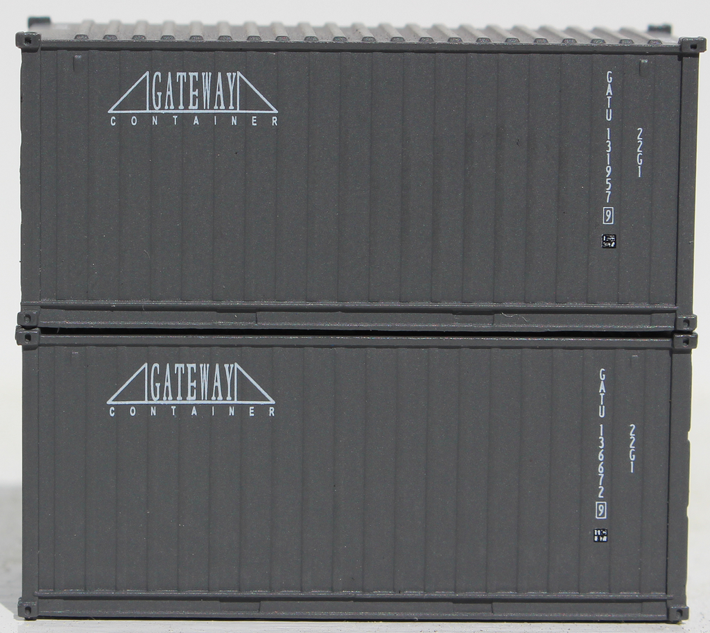 GATEWAY - 20' Std. height containers with Magnetic system, Corrugated-side. JTC-205321