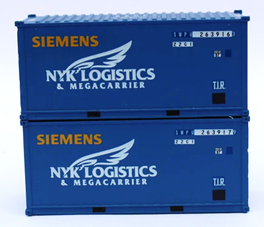 Siemens Wind Power SWPU – former NYK container - 20' Std. height containers with Magnetic system, JTC-205439
