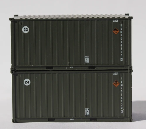 USMU B, MILITARY SERIES 20' Std. height containers with Magnetic system, JTC-205450