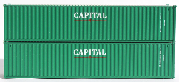CAPITAL CLHU 40' Std. height containers with Magnetic system, Corrugated-side. JTC-405335
