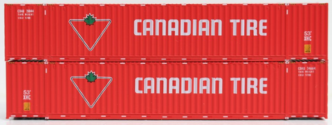 Canadian Tire 53' HIGH CUBE 6-42-6 corrugated containers with Magnetic system, Corrugated-side. JTC # 535050
