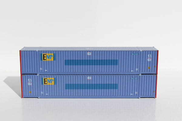 EMP (Ex-PACER) 53' HIGH CUBE 6-42-6 corrugated containers with Magnetic system, Corrugated-side. JTC # 535040 SOLD OUT