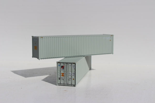 SEALAND 40' HIGH CUBE containers with Magnetic system, Corrugated-side. JTC # 405044