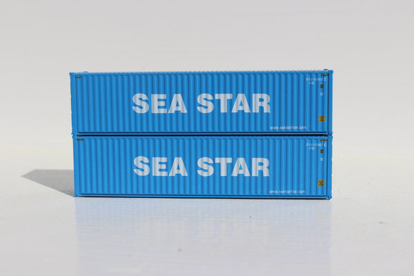 SEA STAR 40' HIGH CUBE containers with Magnetic system, Corrugated-side. JTC # 405043