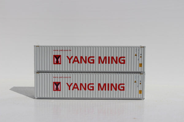 YANG MING 40' HIGH CUBE containers with Magnetic system, Corrugated-side. JTC # 405039