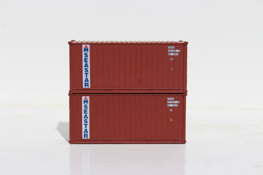 SEA STAR- 20' Std. height containers with Magnetic system, Corrugated-side. JTC-205343