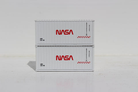 NASA - 20' Std. height containers with Magnetic system, Corrugated-side. JTC-205342