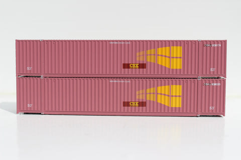 CSX (ex-STAX) Intermodal 53' HIGH CUBE 6-42-6 corrugated containers with Magnetic system, Corrugated-side. JTC # 535017