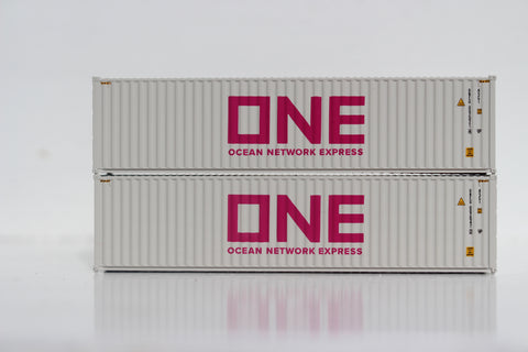 ONE (Light gray) 40' HIGH CUBE containers with Magnetic system, Corrugated-side. JTC # 405082 SOLD OUT