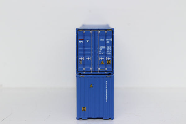 APL 40' HIGH CUBE containers with Magnetic system, Corrugated-side. JTC # 405107