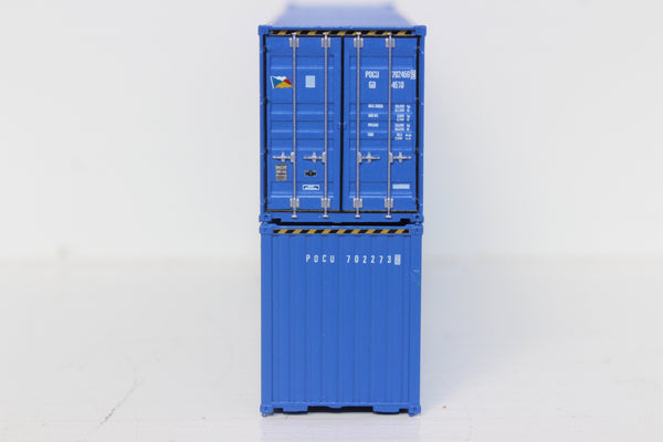 P&O 40' HIGH CUBE containers with Magnetic system, Corrugated-side. JTC # 405029