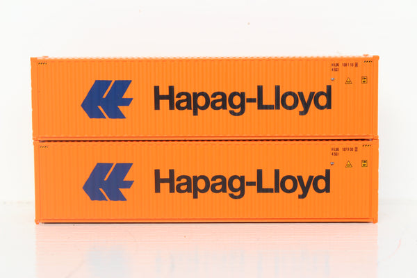HAPAG-LlOYD 40' HIGH CUBE containers with Magnetic system, Corrugated-side. JTC # 405024