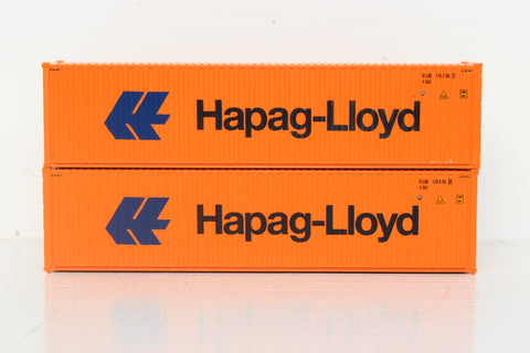 HAPAG-LlOYD 40' HIGH CUBE containers with Magnetic system, Corrugated-side. JTC # 405110